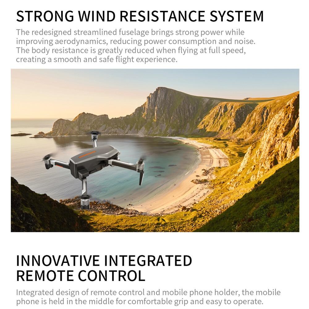 Shoreline - L109PRO GPS Drone 4K Quadcopter HD ESC Camera Brushless 5G WiFi FPV HD ESC Camera Brushless Helicopter Long Flight Time