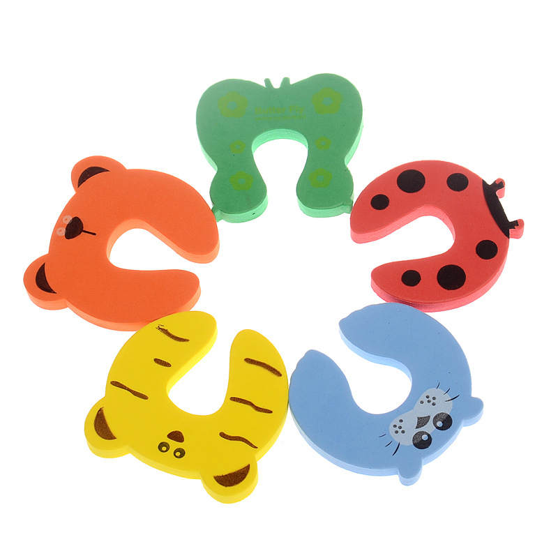 3pcs Child Kids Baby Cartoon Animal Jammers Stop Door Stopper Holder Lock Safety Guard Finger Protect Door Stop Baby Safety lock