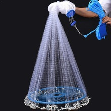 Hand-Throw-Net Gill-Net Finefish American-Style Outdoor