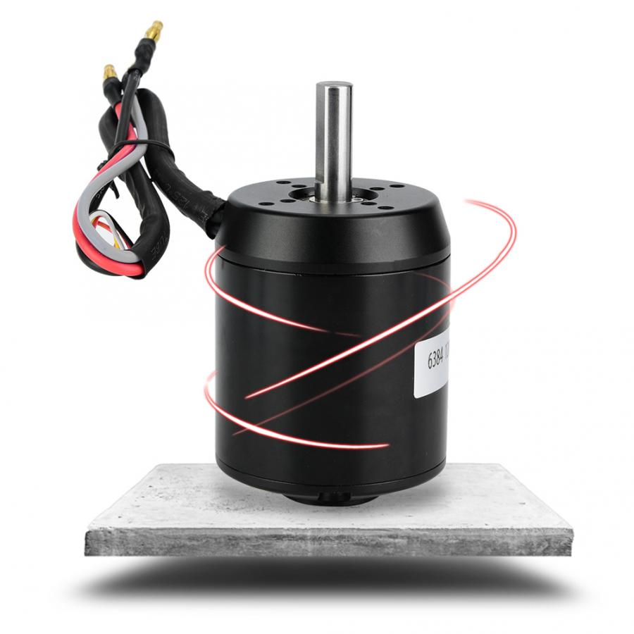 6384 120KV BLDC Outrunner Brushless Twist Throttle Sensored telecontrol Motor for Electric Balancing Scooter Skateboard