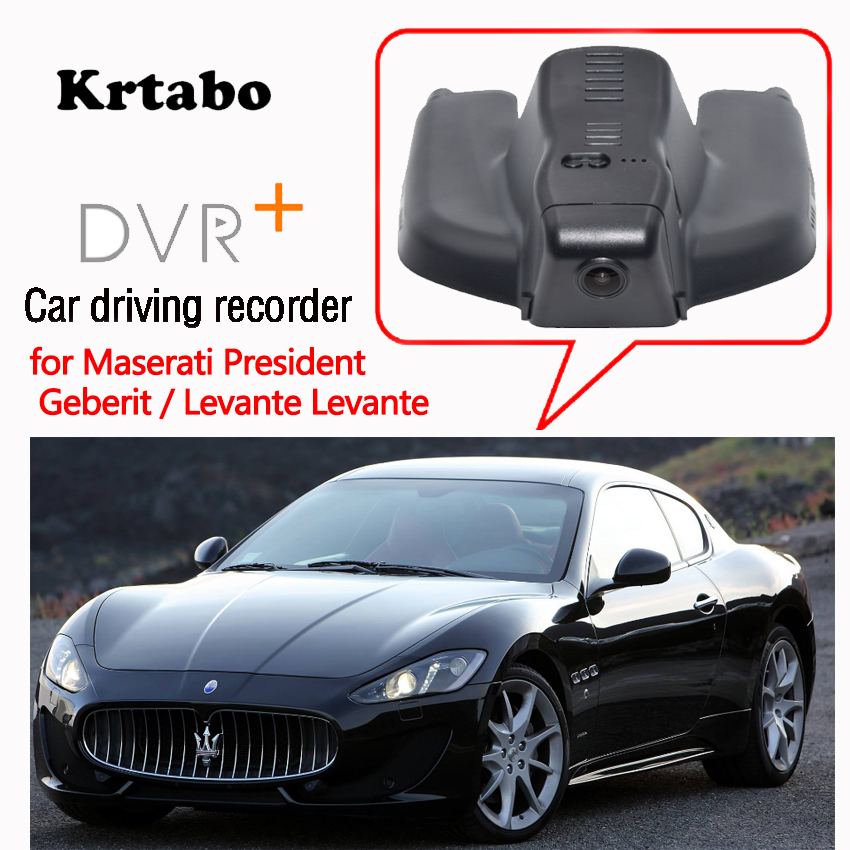 For Maserati President Geberit Levante Levante Car DVR Wifi Video Recorder Dash Cam Camera high quality Night vision full hd