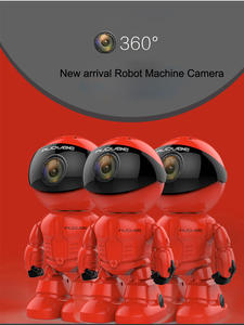 Cctv-Cam Camera Robot Wifi Android for IOS Lens Baby-Monitor H.264130MP Night-Vision