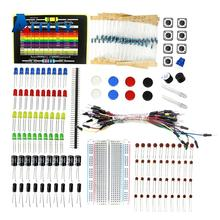 Starter-Kit for Led/capacitor/jumper-wires/Breadboard-resistor-kit with Retail-Box