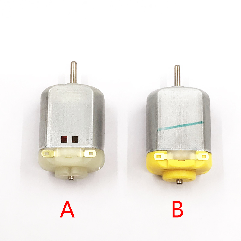 5pcs/lot Carbon Brush 130 DC Motor  3V 3.7V 5V 6V 7.4V 9V 12V 5000-19500RPM High Speed Motor  Dia 2mm Shaft DIY RC Toy Car