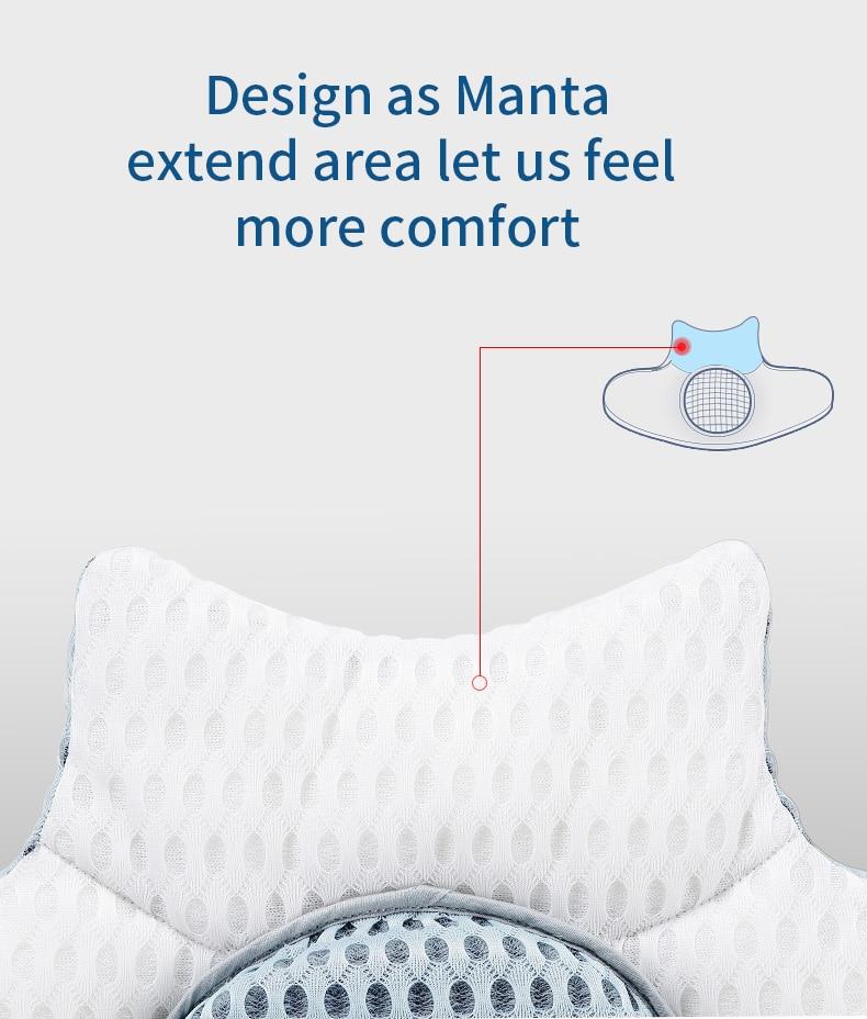 Lumbar Support Cushion Lumbar Support Pillow Sleep Cushion Adjustable Height Waist Pad Home Bedding Pillow for Lumbar and Waist Tire Relief Lumbar Pillow for Sleeping