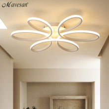 Ceiling-Lights Plafond-Lamp Flush-Mount Remote-Control Bedroom Living-Room Modern Led
