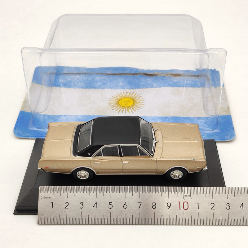 IXO 1:43 Renault Torino Tiwle 1974 Gold Diecast Models Limited Collection