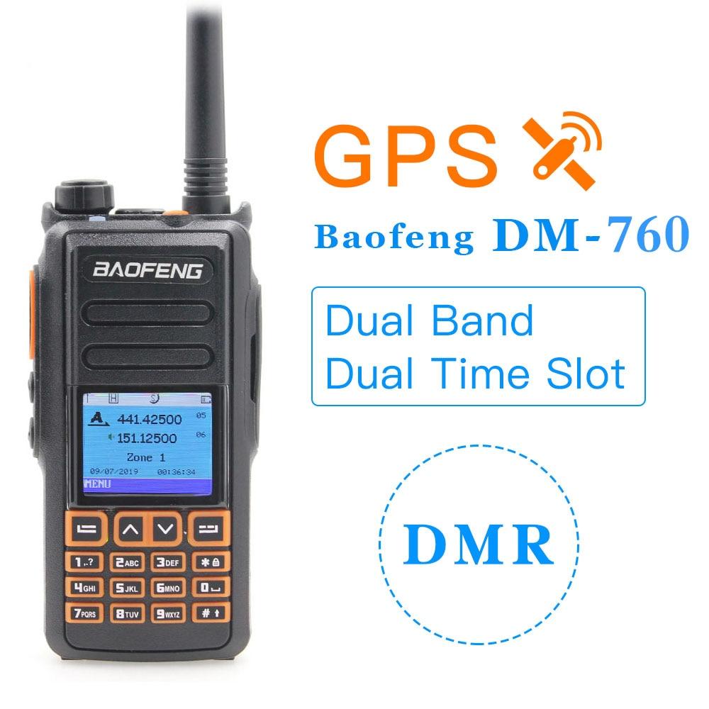 TYT MD-UV390 GPS IP67 Version Dual Band 136-174 /& 400-480 MHz DMR Digital//Analog Radio
