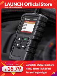LAUNCH Scanner OBD Code-Reader Car-Diagnostic-Tool Elm327-Scan-Tool 3001 CR319 AD310
