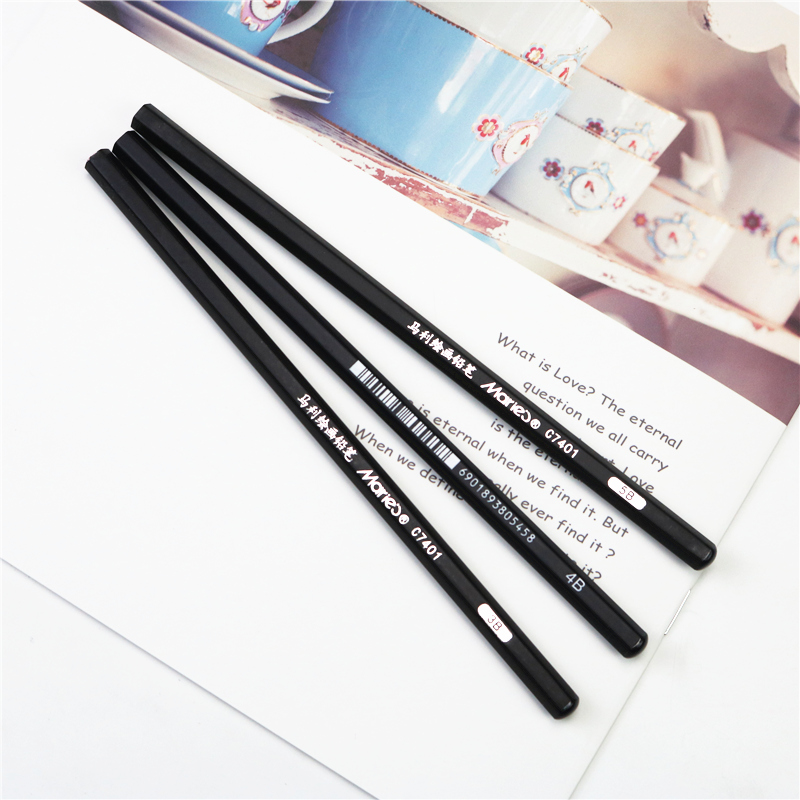 5B 4B 3B Drawing sketch pencil high quality is not easy to break  School art professional practice test pencil