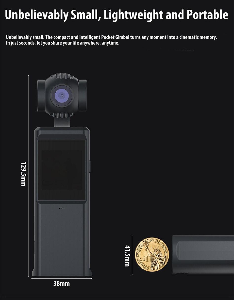 Hohem ISteady 3 Assi Palmare Smartphone Gimbal Stabilizzatore Per iPhone Samsung