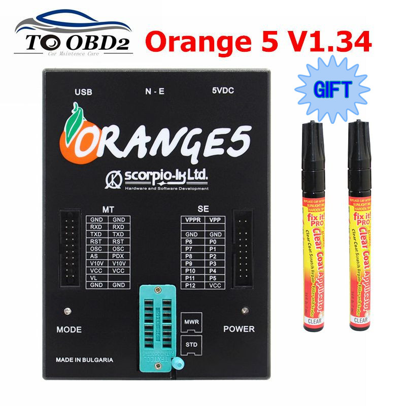 Hardware Full-Adapter Oem Orange5 Enhanced-Function Professional with V1.34 V1.34 title=