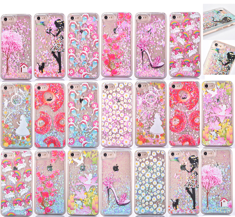 Glitter Unicorn iPhone 5/5S Case