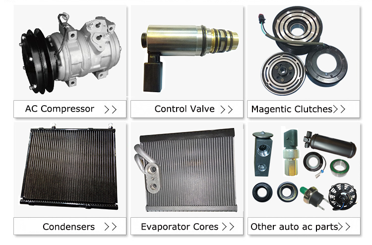SIZE 60*245*240 auto ac air conditioner coil evaporator for FORD