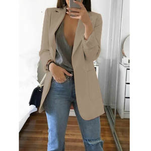 Long Blazer Coats Ou...