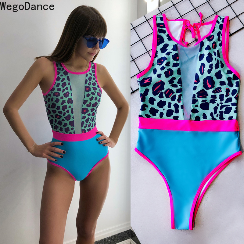 New Women Bodysuit Bar Ds Performance Clothing Sexy Dj Nightclub GOGO Lead Dance Clothing Leopard Print Stage Outfit