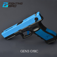 FightingBro GLOCK 18C GBB Gel Blaster Accessories Complete Pistol Upgrade Paintball