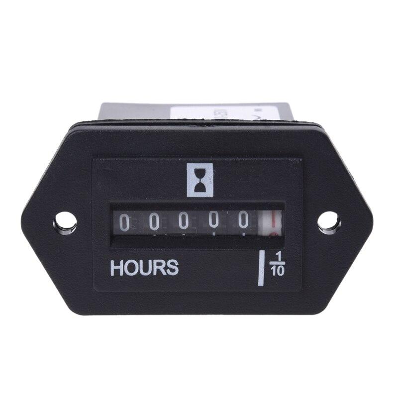 AC100-250V Compteur Horaire Electromecanique B9B7