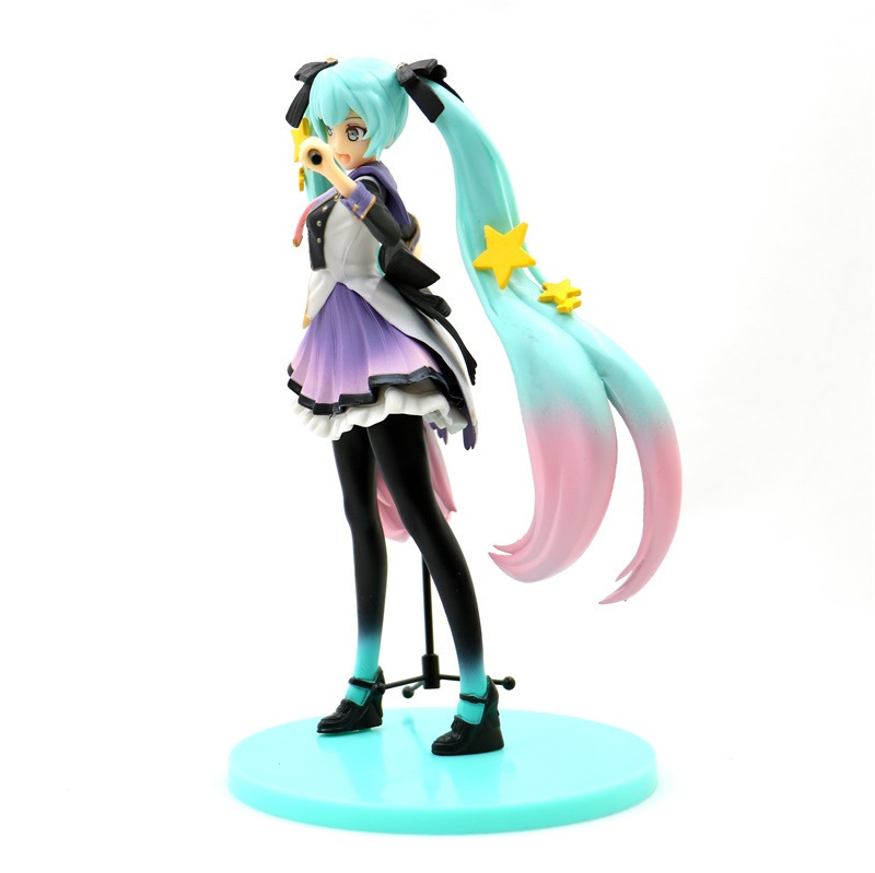 Hatsune Miku 10th Anniversary Edition PVC Miku Hatsune Figure Action Collectible Model Toy (2)