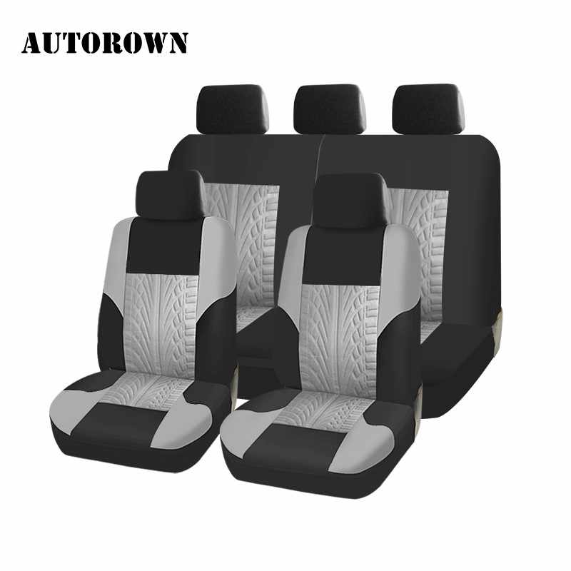 AUTOROWN Universal Car Seat Covers For Hyundai Toyota Mitsubishi Kia Polyester Car Seat Cover Car Styling Car Seat Protector