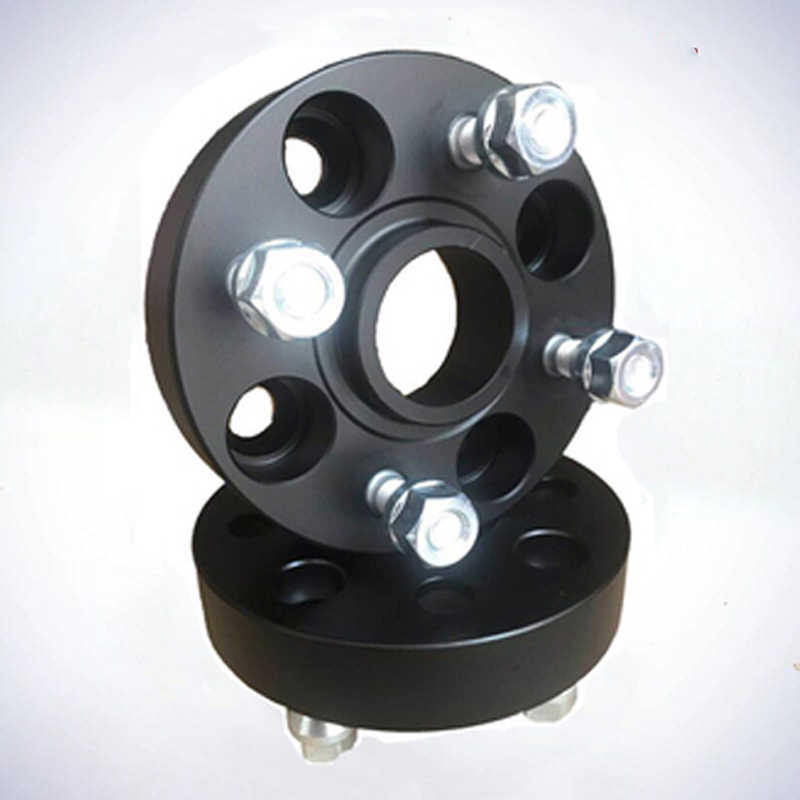 15MM AUDI 4X100-5X100 CB 57.1 HUB CENTRIC SPACERS BLACK ANODIZED