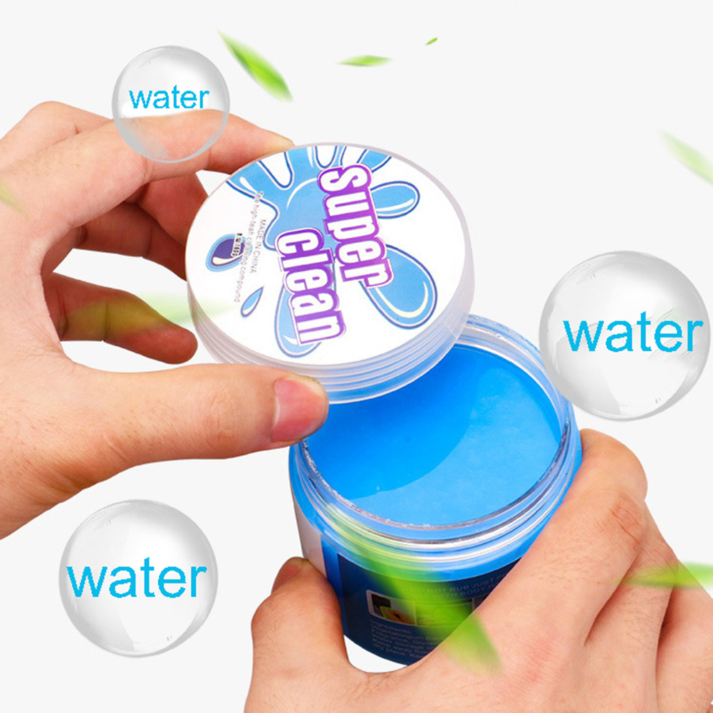 Car Cleaning Gel Keyboard Cleaner Dust Computer Putty for Detailing Office Supplies Keyboard Car Computer Universal Crystal Magic Dust Putty Cleaning Gel Slime