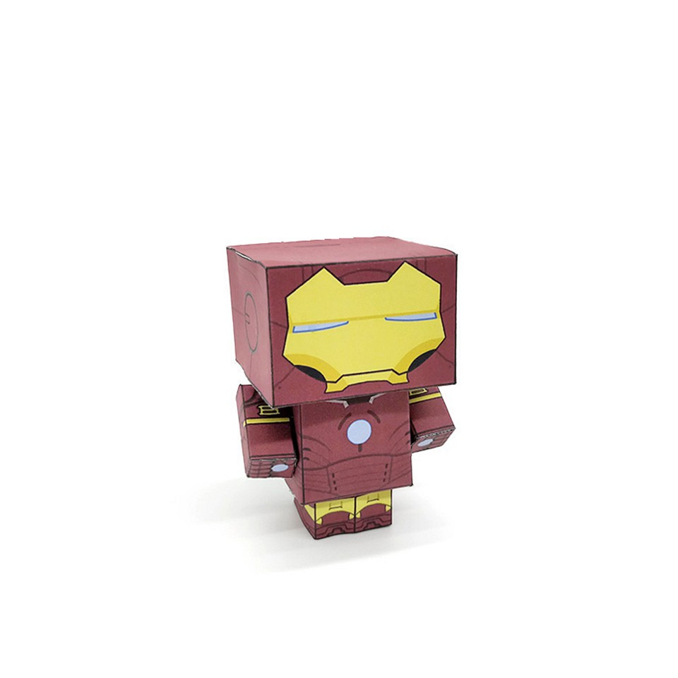 FLYING The Avengers Iron Man Flying Lace Locks Marvel Comics Brand New