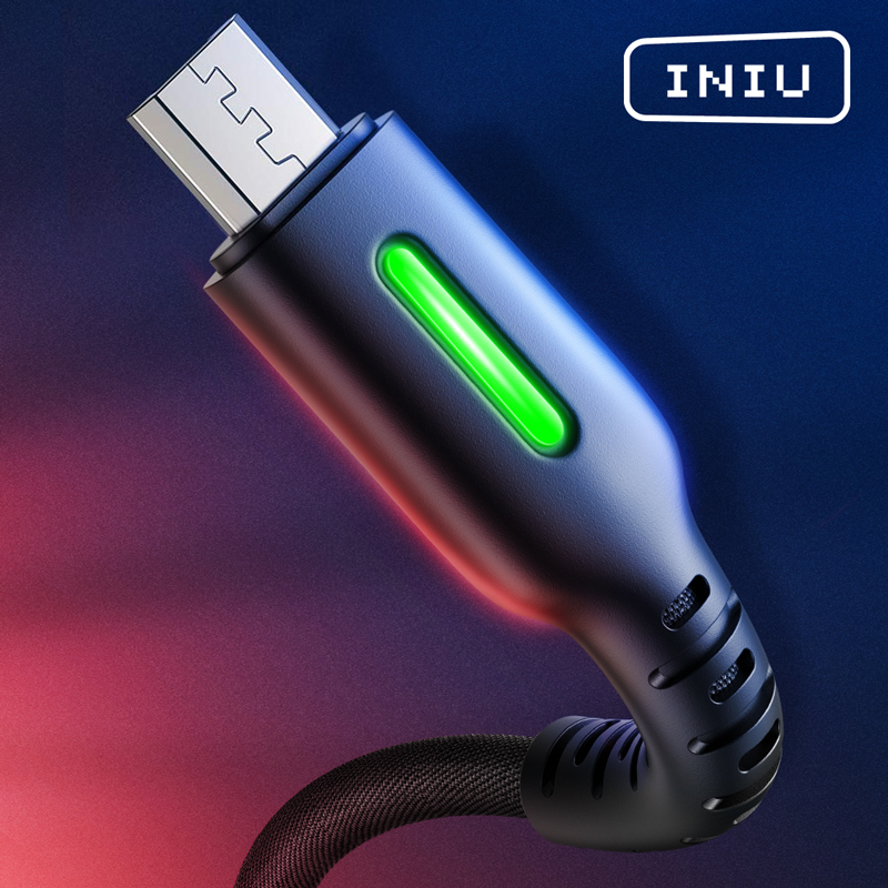 INIU Mobile-Phone-Charger Data-Cord Type-C-Cable Andriod Microusb Fast-Charging Xiaomi title=
