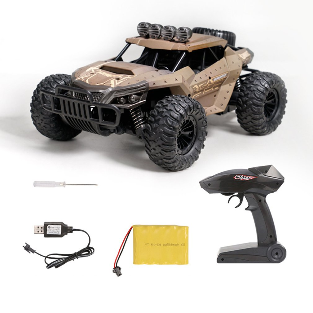 Buggy - 2.4G Electric 4 Wheel Drive Buggy Rock Crawler RC Car RC Trucks Off-Road Vehicle With 480P Camera