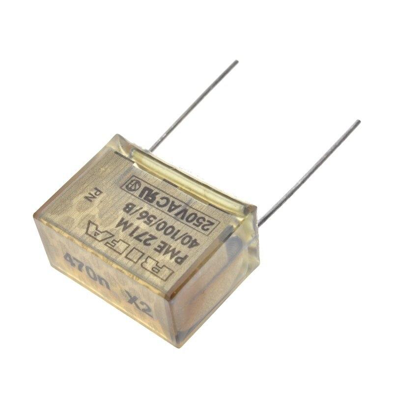 Metallpapierkondensator PME271M647KR30  470nF X2  275VAC RM25,4  10/%   #BP 1 pc
