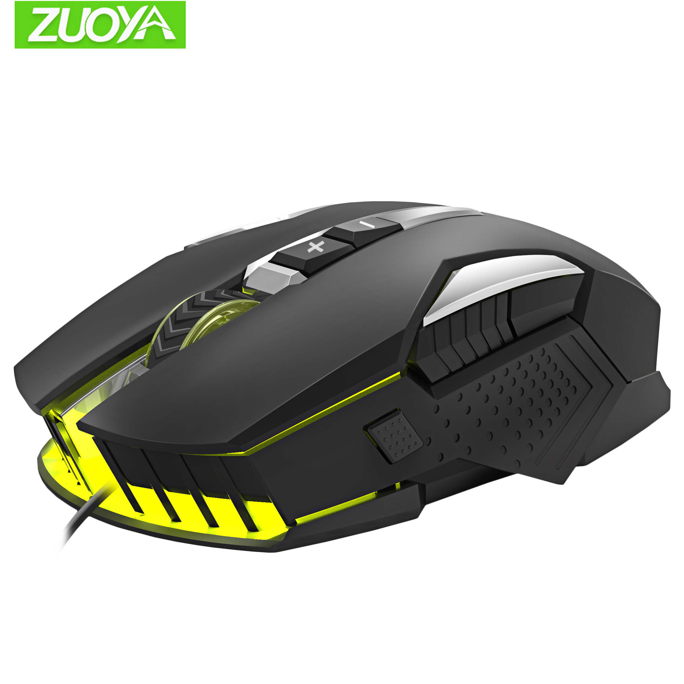 Gaming Mouse Wired Optical High-grade Adjustable DPI 6 Buttons USB Bright Light