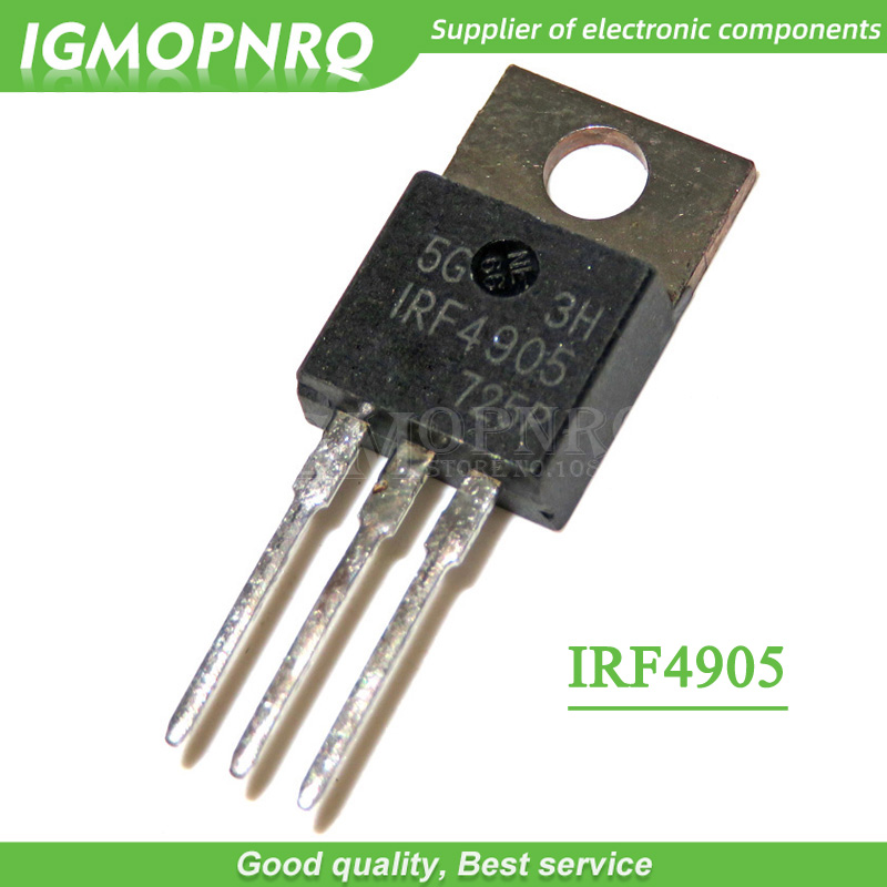 1 X International Rectifier Irf4905pbf Mosfet P 55v 74a,To-220