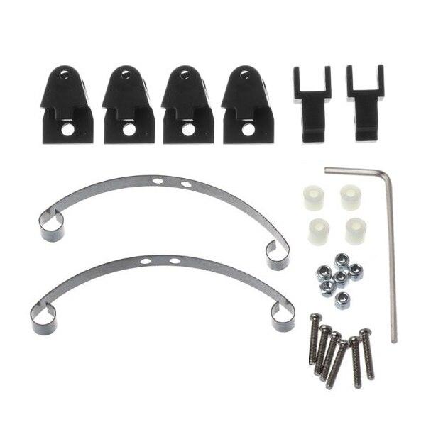 For WPL B16 B36 B24 GAZ Ural RC Truck Model Car Steel Leaf Spring Sheets Holder
