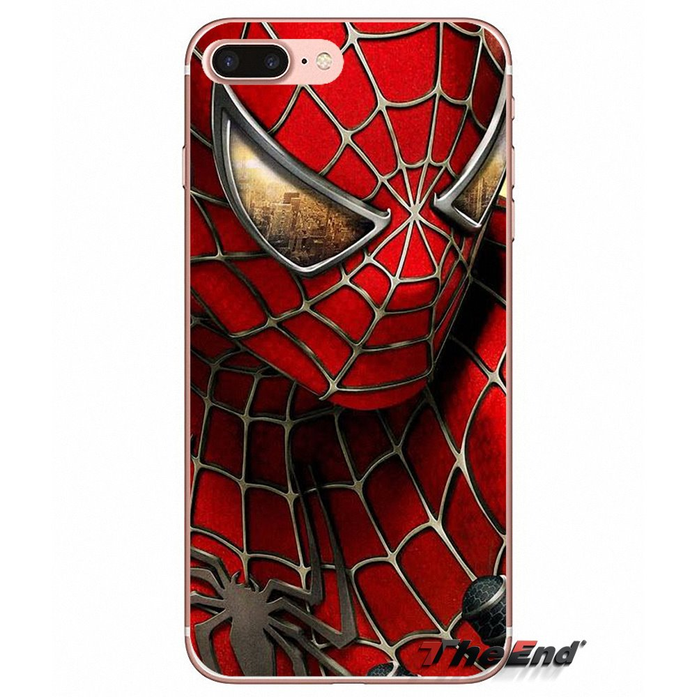 Чехол с логотипом для Xiao mi 6 A1 Max x 2 5X 6X Red Note 5 5A 4X 4A A4 4 3 Plus Pro Spiderman Man Hero