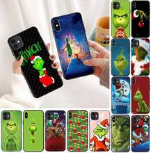 YNDFCNB How the Green ofMonster Grinch, Рождественский чехол для телефона iPhone 11 8 7 6 6S Plus X XS MAX 5 5S SE 2020 XR 11 pro(Китай)