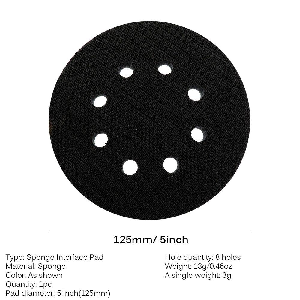 Almohadilla de interfaz suave almohadilla de lijado SENRISE para lijado de superficies redondeadas y contornos discos de lijado de gancho y bucle.