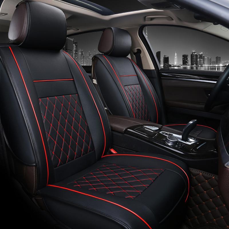 Universal PU pelle traspirante BAMBOO Car Seat Cover Pad Tappetino Auto Sedia Cuscino