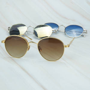 Gold Sunglasses Shad...