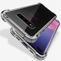 Clear Shockproof Case for Samsung Galaxy S10 Plus S10e S8 S9 Plus Soft Silicone Phone Cases for Samsung Note 10 9 8 Back Cover