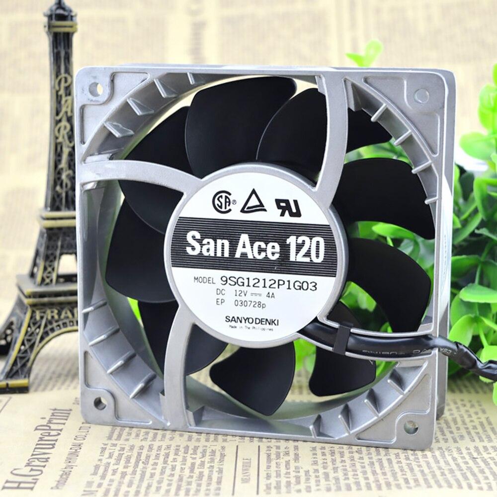 Wholesale new original For Sanyo 109E1224A105 12038 12cm DC24V 0.25A fan radiator equipment