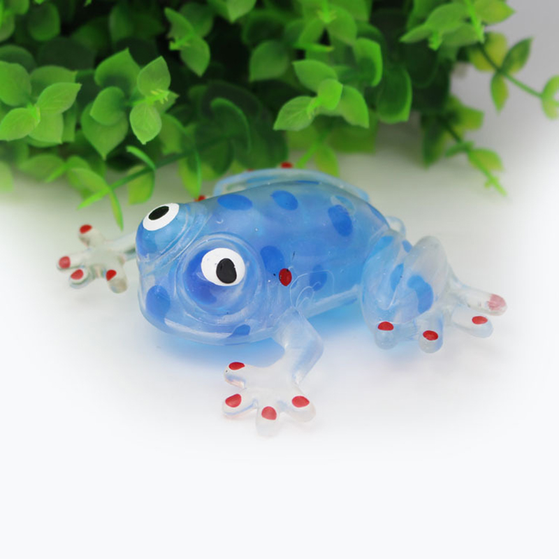 Novelty Squishy Juguetes Soft Artificial Frog Toys Anti Stress Relief Toys Kids Adult Educational Toy Game Gags Christmas Toy