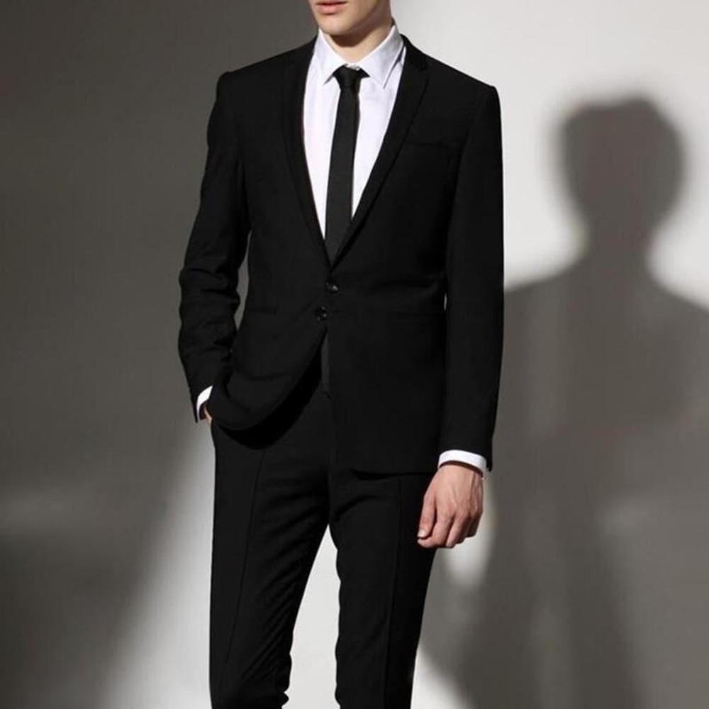 Ideal for funerals Work Security Doorman, etc. Black with Tie Clip