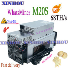 New BTC BCH Miner WhatsMiner M20S 68T With PSU Asic miner better than M3 M3X M21s Antminer