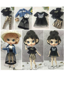 Pack of 3 BJD V-neck Evening Dress for 1//6 SD BB Licca//Momoko//Azone Dress Up