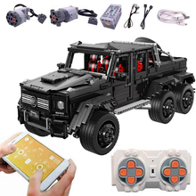 Cars Toys Building-Blocks Land-Cruiser-Set Bricks Kids Technic LE-J901 Model MOC Compatible