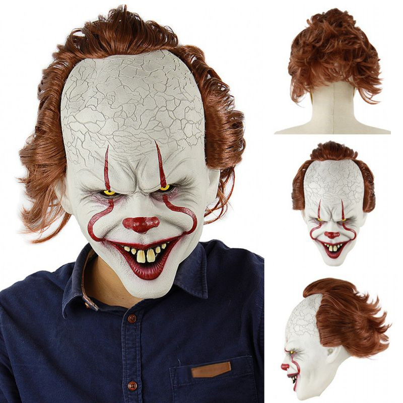 Halloween-Latex-3D-Mask-Horror-Sorcerer-Clown-Mask-Haunted-House-Room-Escape-Dress-Up-Live-Show