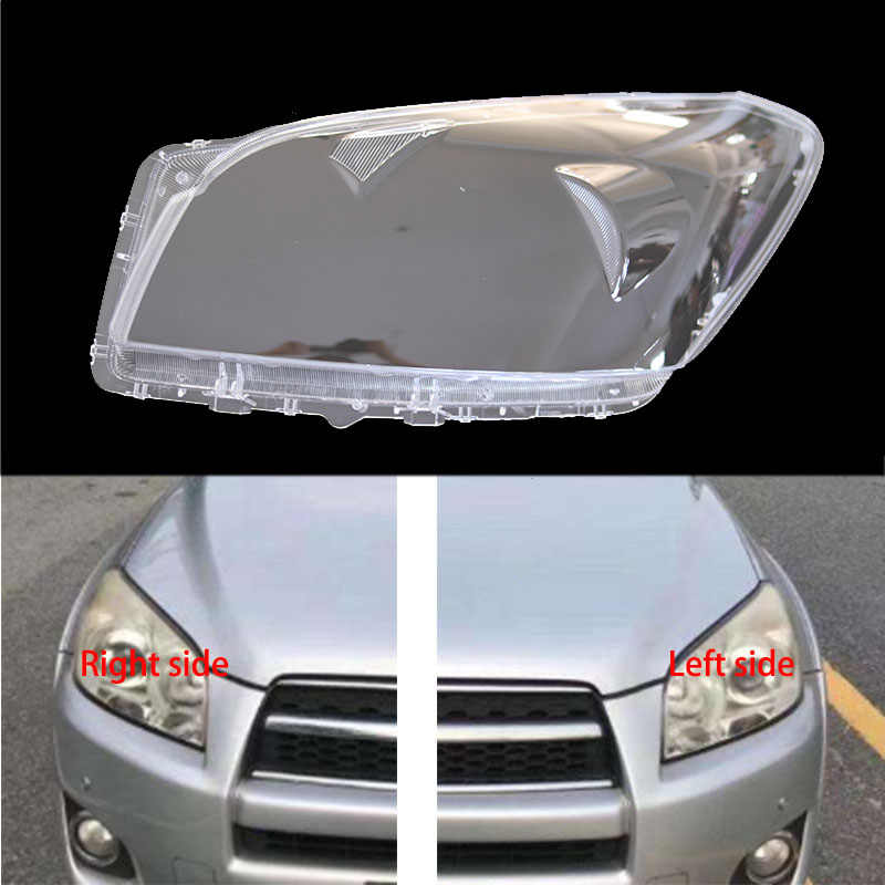 1*Right Front Headlight Headlamp Plastic Clear Lens Cover For VW Tiguan 09-12