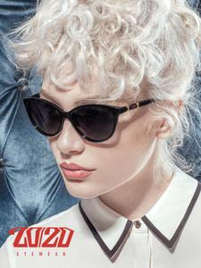 Sunglasses Women Oculos Shades Cat-Eye Gradient Female Polarized Vintage Brand Design