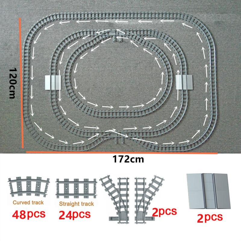 59 Lego raíles ferrocarril rueda 2x2 negro 4 unidades