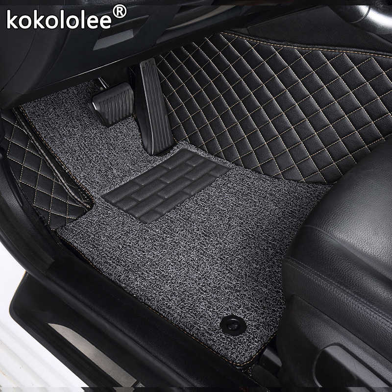 Custom car floor mats for Ford all model focus explorer mondeo fiesta c-max Mustang ecosport Everest s-max edge Tourneo kuga